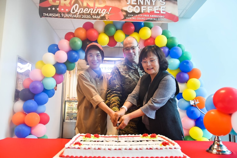 Far East District headquarters welcomes Jenny's Coffee Shop