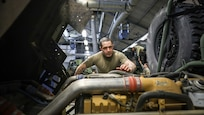 Vehicle mechanics keep Army rolling throughout European theater