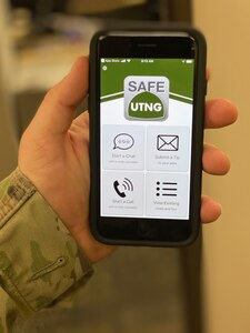 The SafeUTNG app is now available in the Android and Apple app store, free to download.