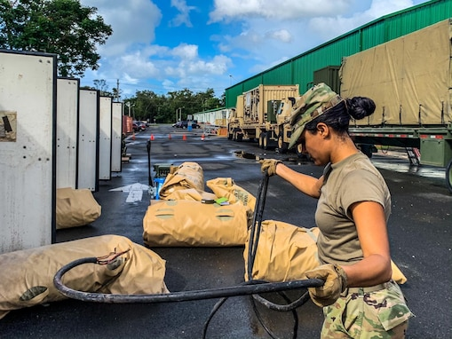 430th Quartermaster Company ready to assist in the aftermath of earthquakes in Puerto Rico