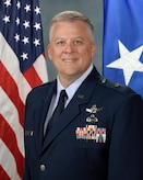This is the official portrait of Brig. Gen. Jeffrey F. Hill.