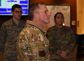 CSAF visits Minot Air Force Base