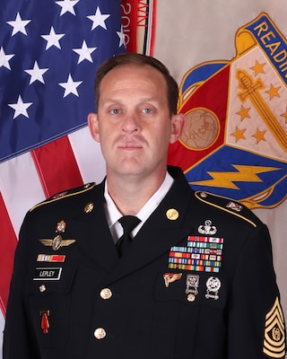 402nd AFSB CSM Adam T. Lepley