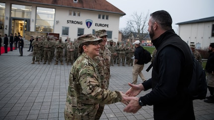 Troops First Foundation Veterans visit U.S. Army Europe headquarters