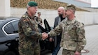 Chief of German Army visits U.S. Army Europe headquarters