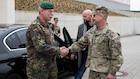 Chief of German Army visits U.S. Army Europe headquarters