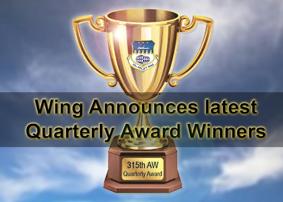 Wing Announces Latest Quarterly Award Winners