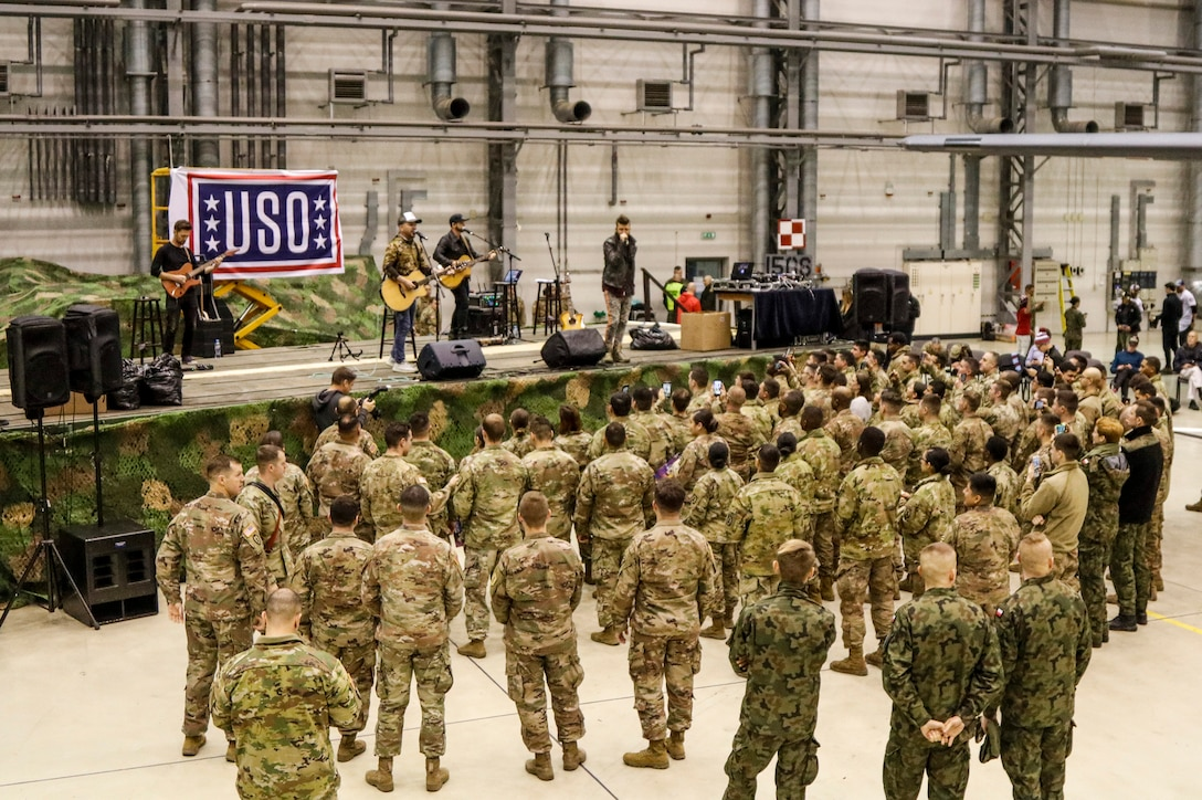 USO New Year's Tour