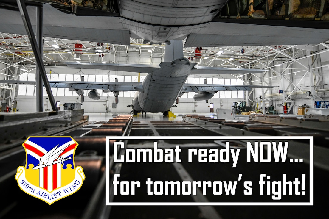 The new year brings with it a new mission statement. On Dec. 17, 2019, during a multi-day workshop, the 910th Airlift Wing leaders discussed the mission, vision and priorities of the unit resulting in a new mission statement: Combat ready NOW...for tomorrow's fight.