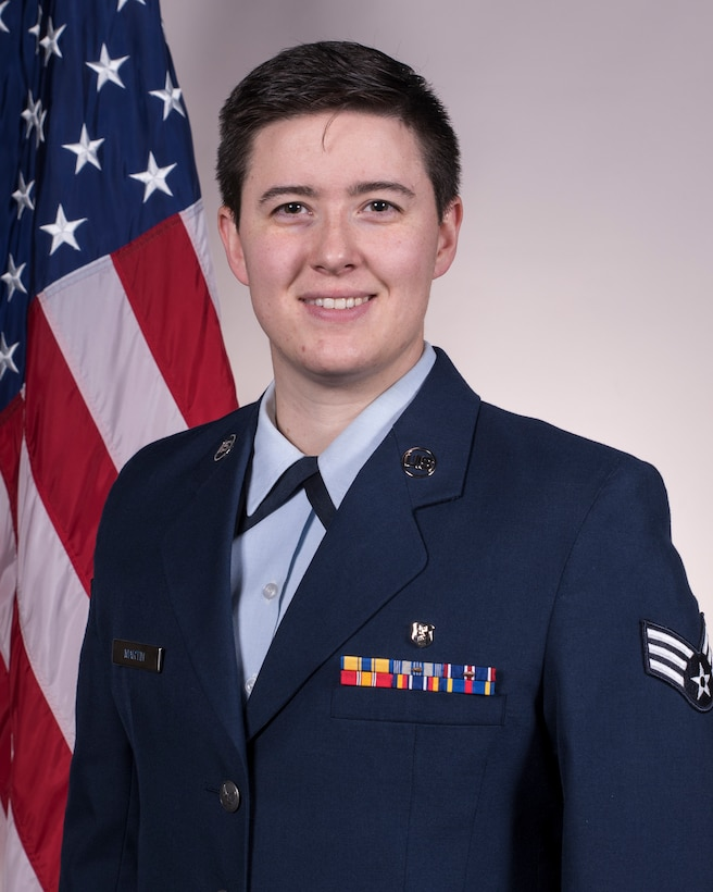 Senior Airman Hannah B. Martin, the 188th Wing Outstanding Junior Enlisted Airman of the Year. Martin is assigned to the 188th Medical Group. (U.S. Air National Guard photo, Tech. Sgt. John E. Hillier)