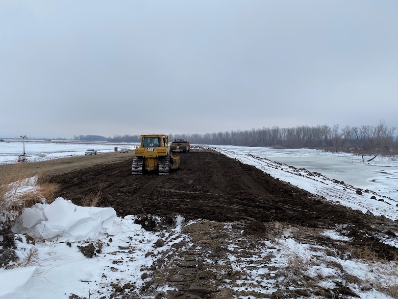 The U.S. Army Corps of Engineers, Omaha District closed a sixth breach along Missouri River Levee System L-550, located near Missouri River Mile 524 southeast of Rock Port, Missouri, on Tuesday.