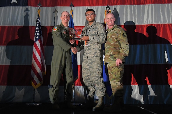 A photograph from the 388th Fighter Wing Annual Awards Ceremony.