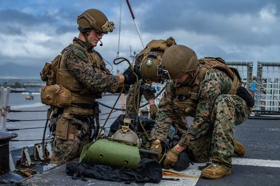 31st Marine Expeditionary Unit Maritime Raid Force begins Training Exercise in Hawaii