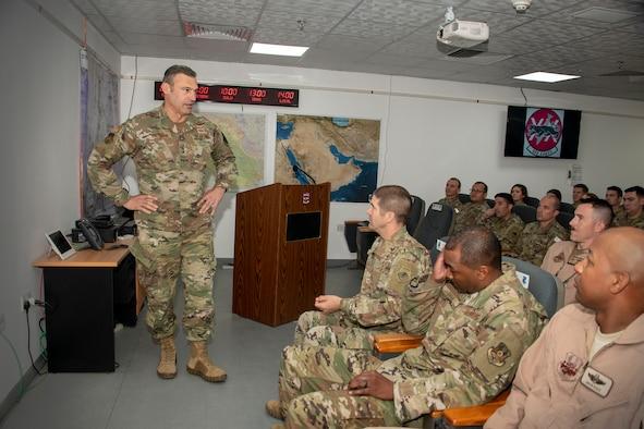 AFCENT leadership visit ADAB