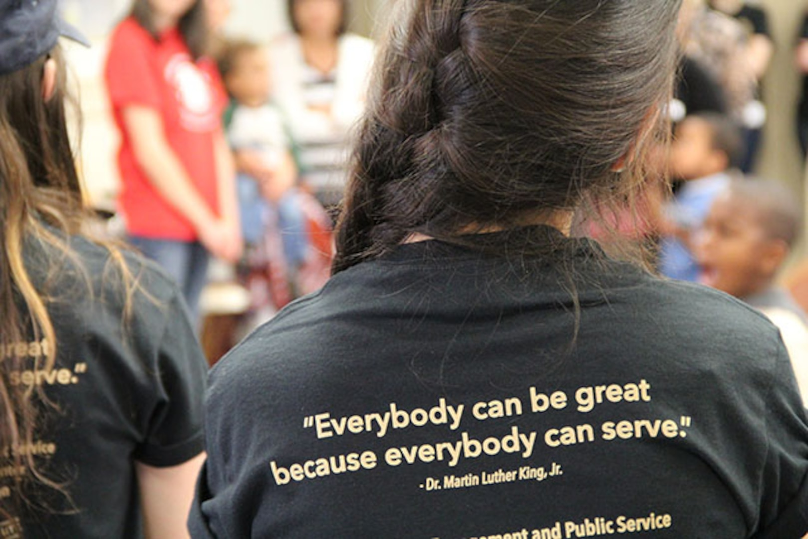 DLA Aviation marks MLK Day with call to service