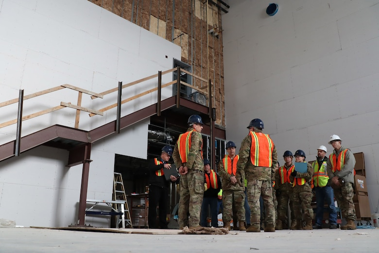 20th Air Force, Air Force Global Strike Command and 341st Missile Wing leadership tour the newest facility on Malmstrom Air Force Base.