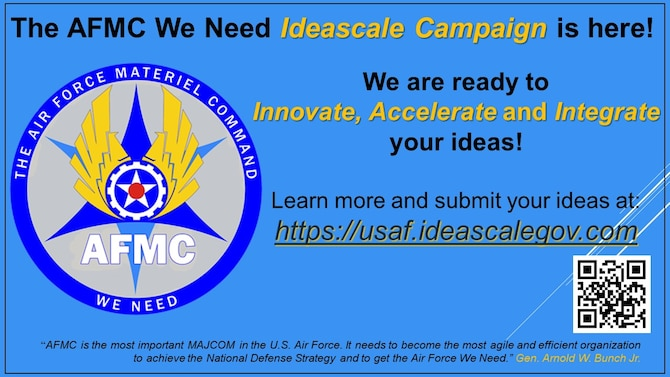 AFMC Ideascale graphic