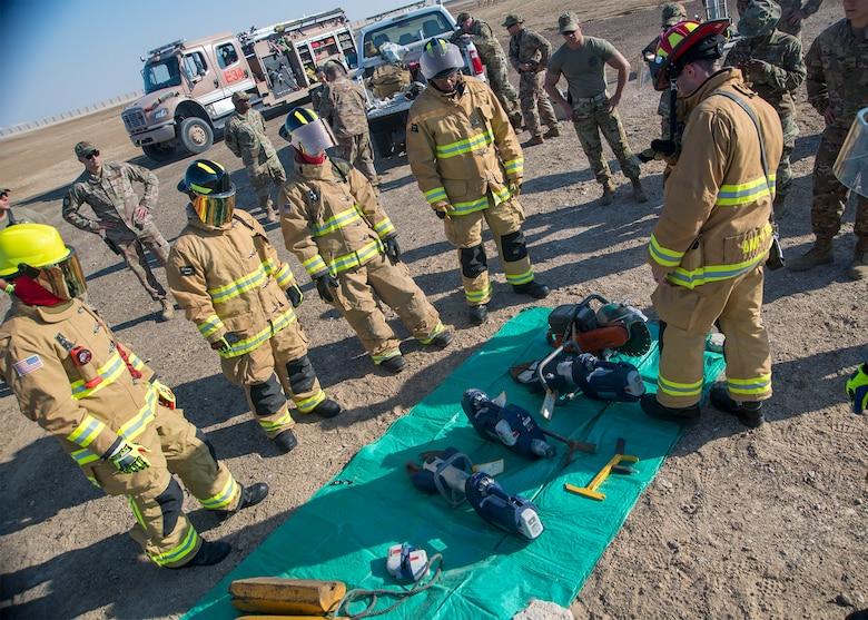 vehicle burn, extrication