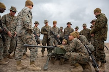 Marines to receive new, lightweight ammo for machine gun