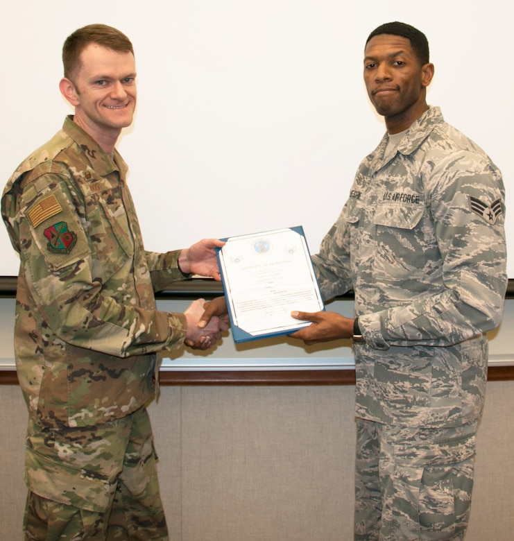 Gillespie Promoted to Staff Sergeant