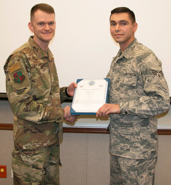 Pugh Promoted to Staff Sergeant