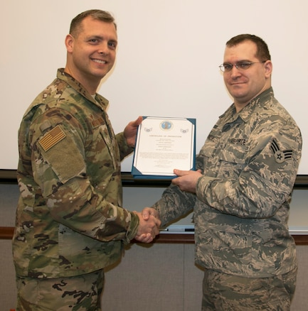 Whitney Promoted to Staff Sergeant