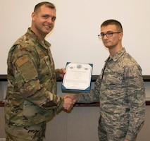 Buchwald Promoted to Airman