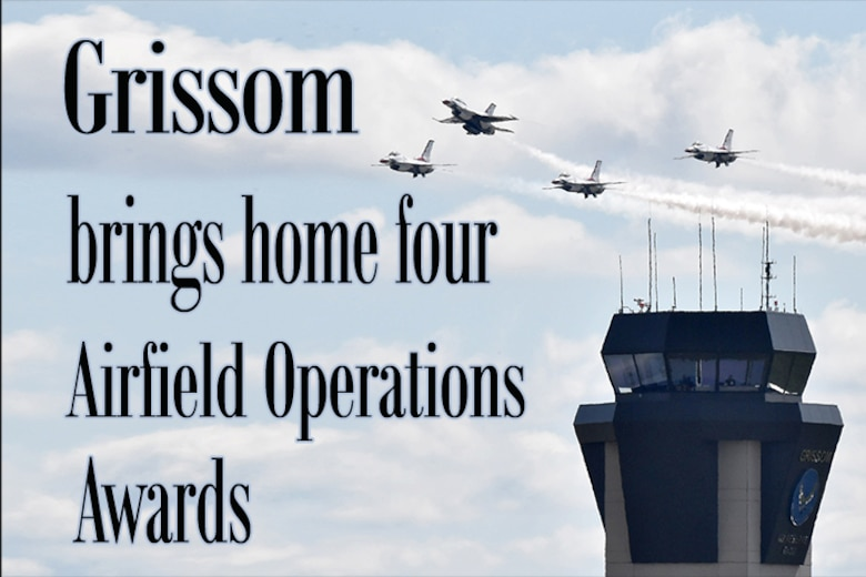 The 434th Operations Squadron upheld its tradition of excellence in 2019 as it claimed four of Air Force Reserve Command's annual airfield operations awards. (U.S. Air Force graphic/MSgt. Ben Mota)