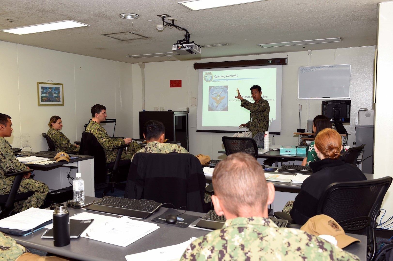 U.S Indo-Pacific Command Holds Gender in Security Cooperation Course at Yokosuka
