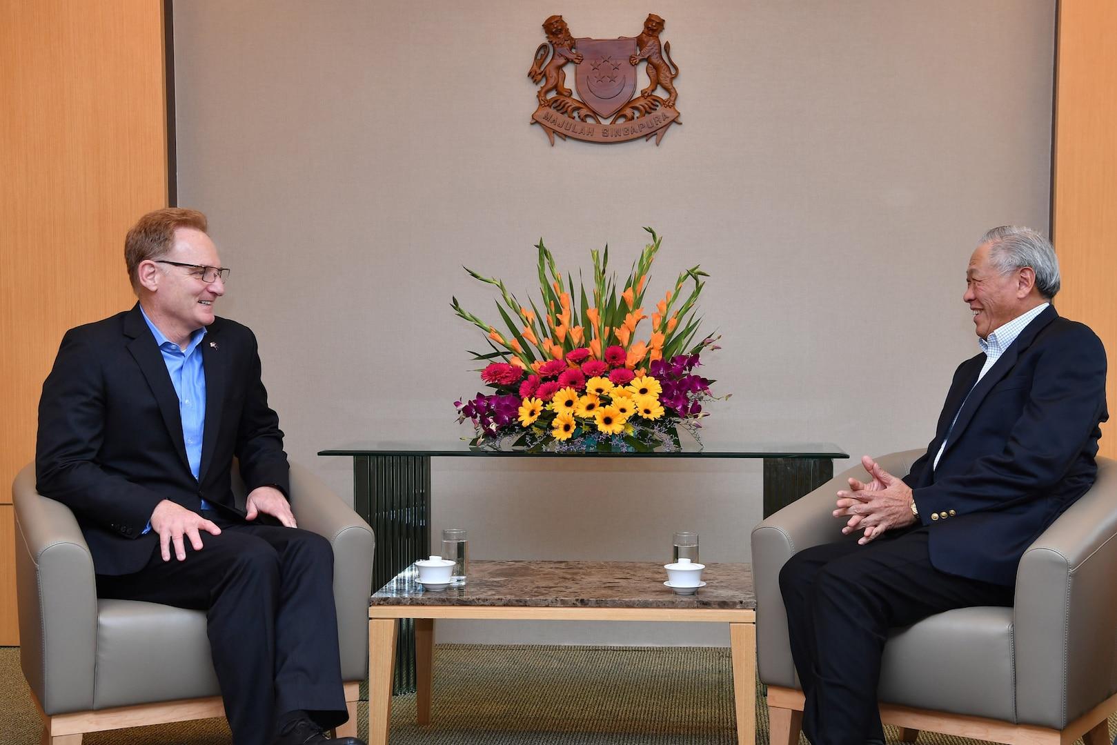 Acting SECNAV's Singapore Visit Reaffirms Strong Partnership