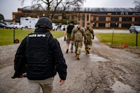 The Indiana National Guard hosted Operation Down and Dirty training exercise at Stout Field Jan. 14, 2020.