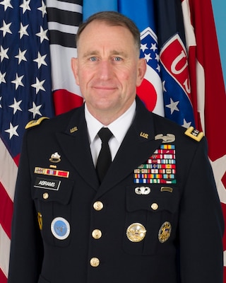 General Abe Abrams is the Commander of the United Nations Command, the Combined Forces Command, and of United States Forces Korea (UNC/CFC/USFK).