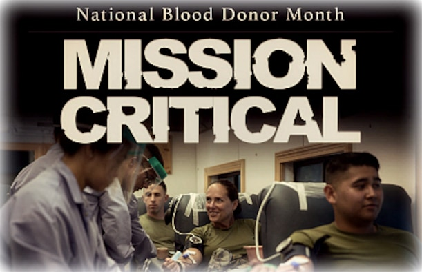 January is Blood Donor Month, not only recognizing those who donate, but also emphasizing the need for donations.