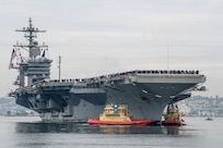 USS Abraham Lincoln Arrives in San Diego after Record-setting Deployment