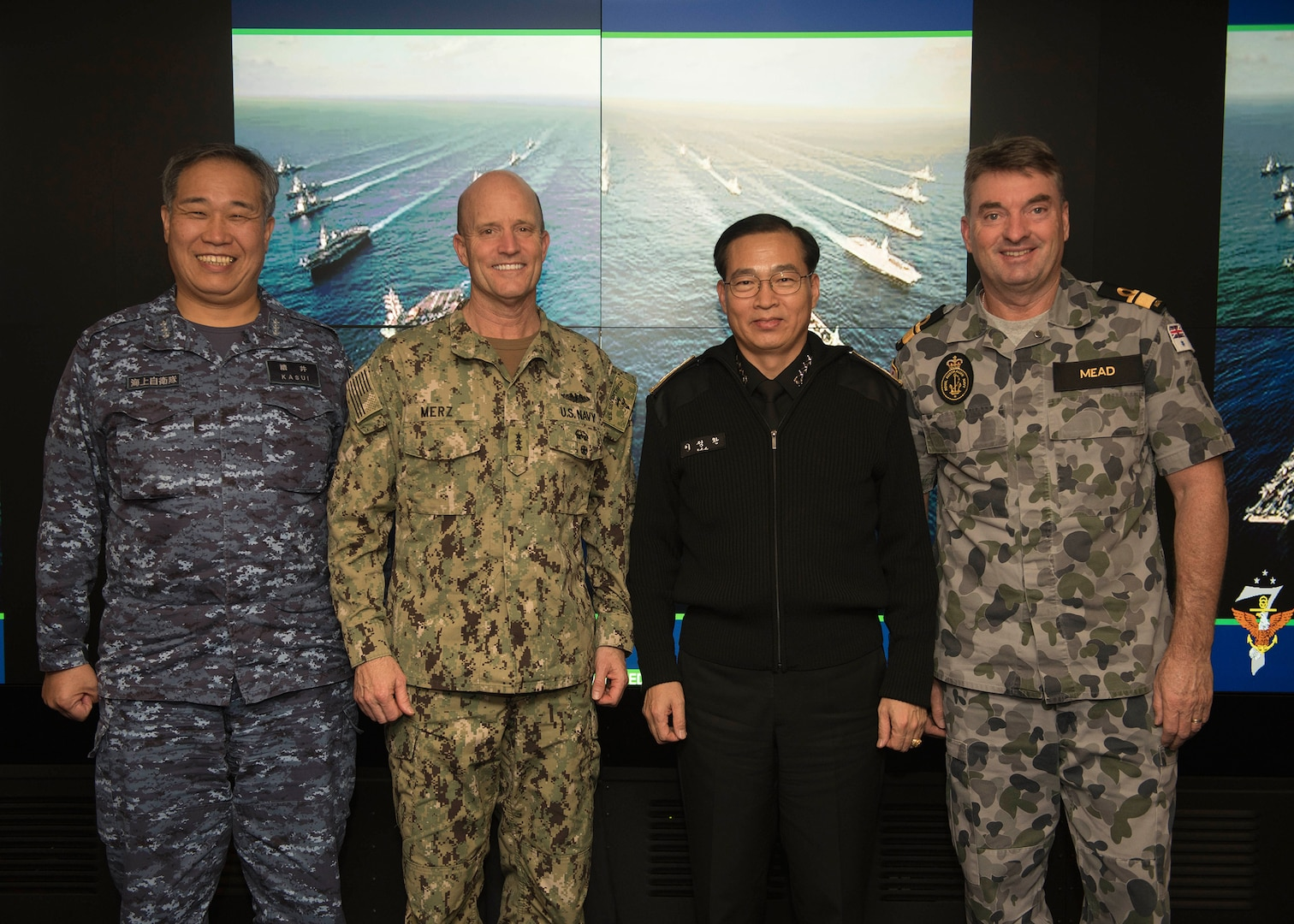 7th Fleet Hosts Commander's Roundtable Aboard USS Blue Ridge