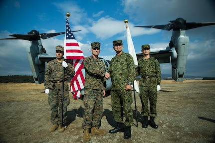 U.S. Marines, Japan Ground Self-Defense Force begin Exercise Forest Light Western Army