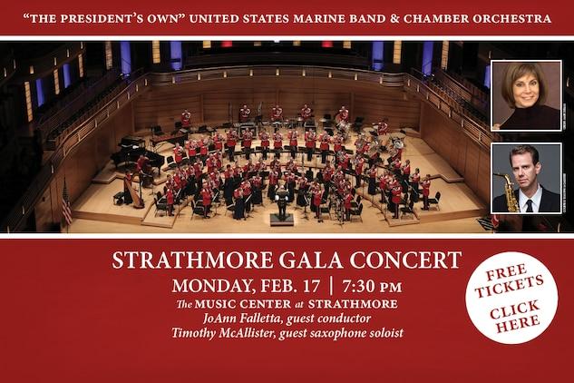 Strathmore Gala Concert: Feb. 17