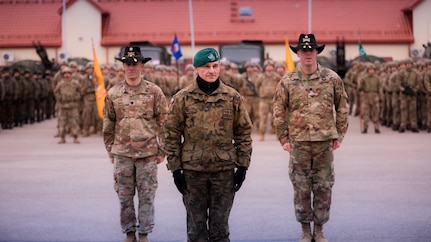 2nd Cavalry Regiment takes authority of eFP Battle Group Poland
