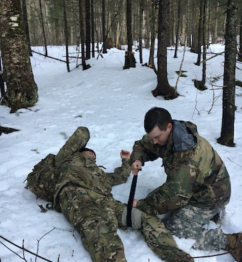 The objective of the training was to ensure that soldiers are equipped with the knowledge and skills to move tactically and conduct operations in cold weather conditions. Soldiers maneuvered through real world cold weather conditions using the knowledge and tools acquired through preventive medicine training.