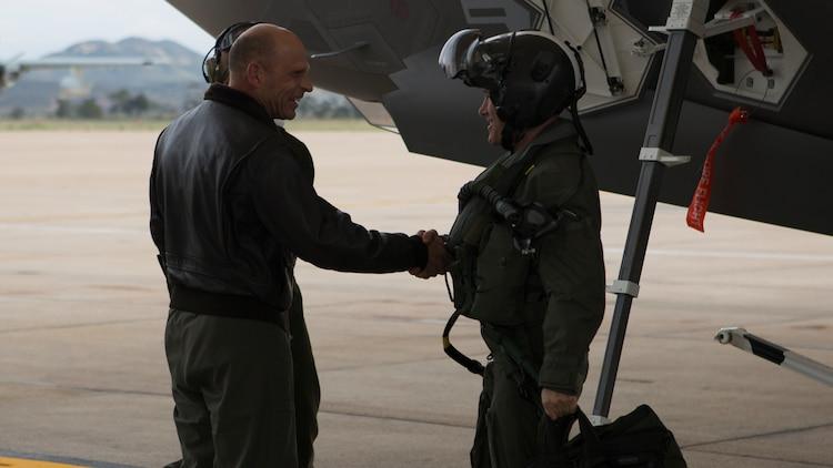 VMFA-314 receives its first F-35C