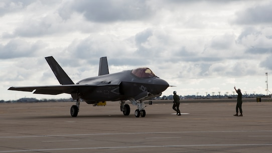 VMFA-314 receives its first F-35C