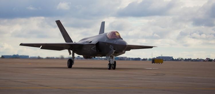 VMFA-314 receives it's first F-35C