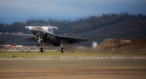 VMFA-314 receives it's first F-35C