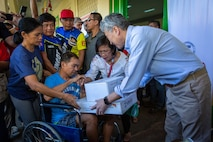 U.S. Ambassador Kim Announces Php 5.1 Million in Relief Assistance for Communities Affected by Taal Volcano