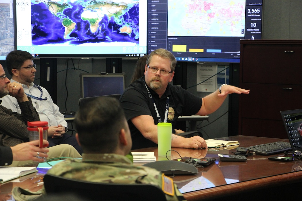 The AGE Node provides a robust capability for testing geospatial standards and system interoperability. The valuable resource is key to the Army Geospatial Enterprise's success. (Photo credit: U.S. Army Geospatial Center)