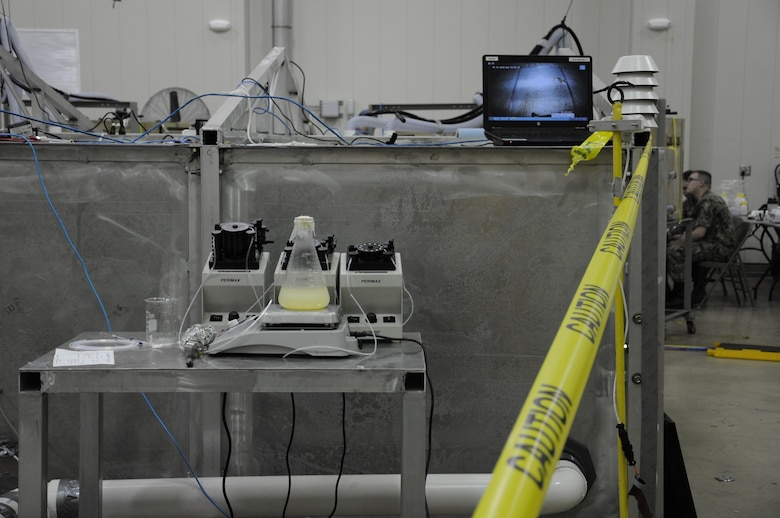 photo of biological detection equipment
