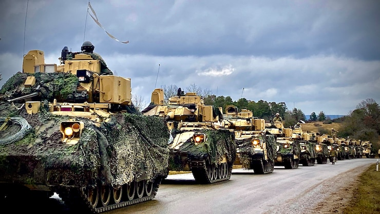 1st Cavalry Division at Combined Resolve XIII in Grafenwöhr, Germany