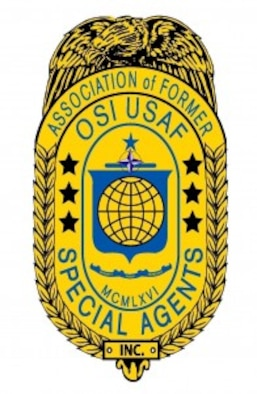 Association of Former Office of Special Investigations Special Agents badge graphic. (AFOSISA graphic)