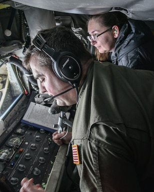 Civil Air Patrol Flies With The 117 ARW