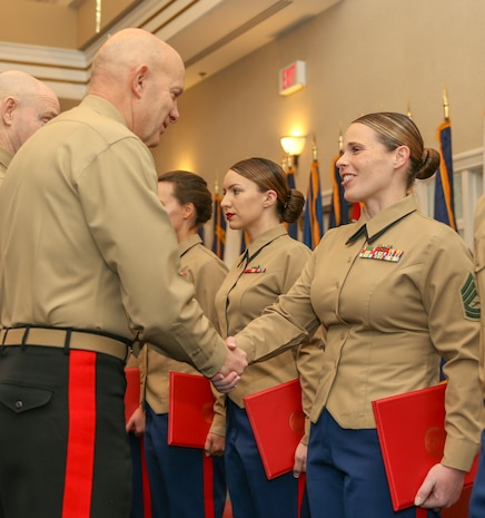Commandant of the Marine Corps' Award Ceremony